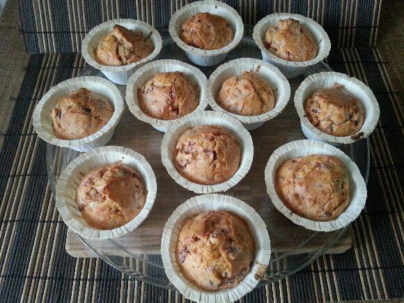 Cupcakes à la Betterave et au fromage frais aux herbes