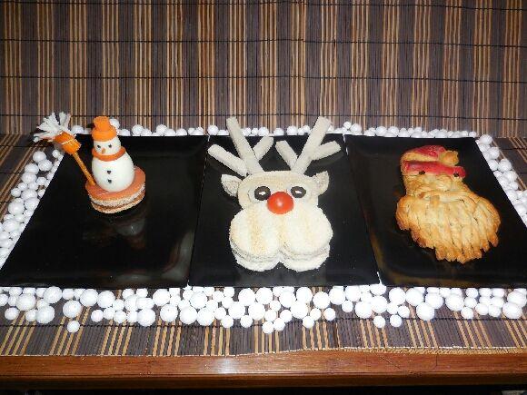 Repas spécial Noël pour mini-pousses