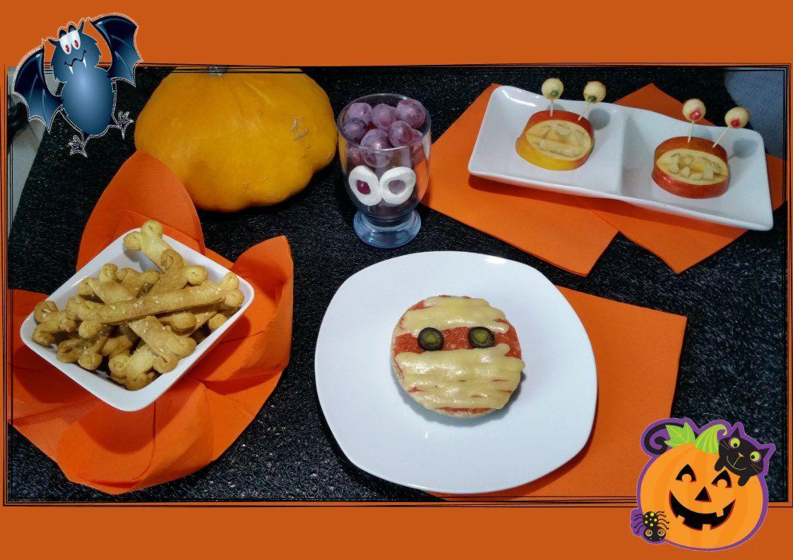 menu Halloween ... même pas peur !