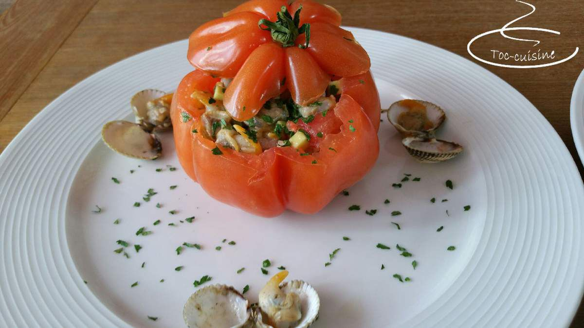 tomates farcies aux coques