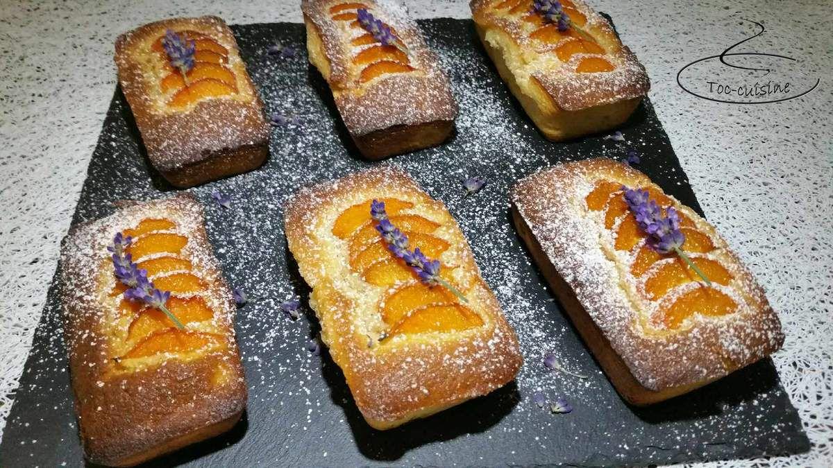 moelleux aux abricots et lavande