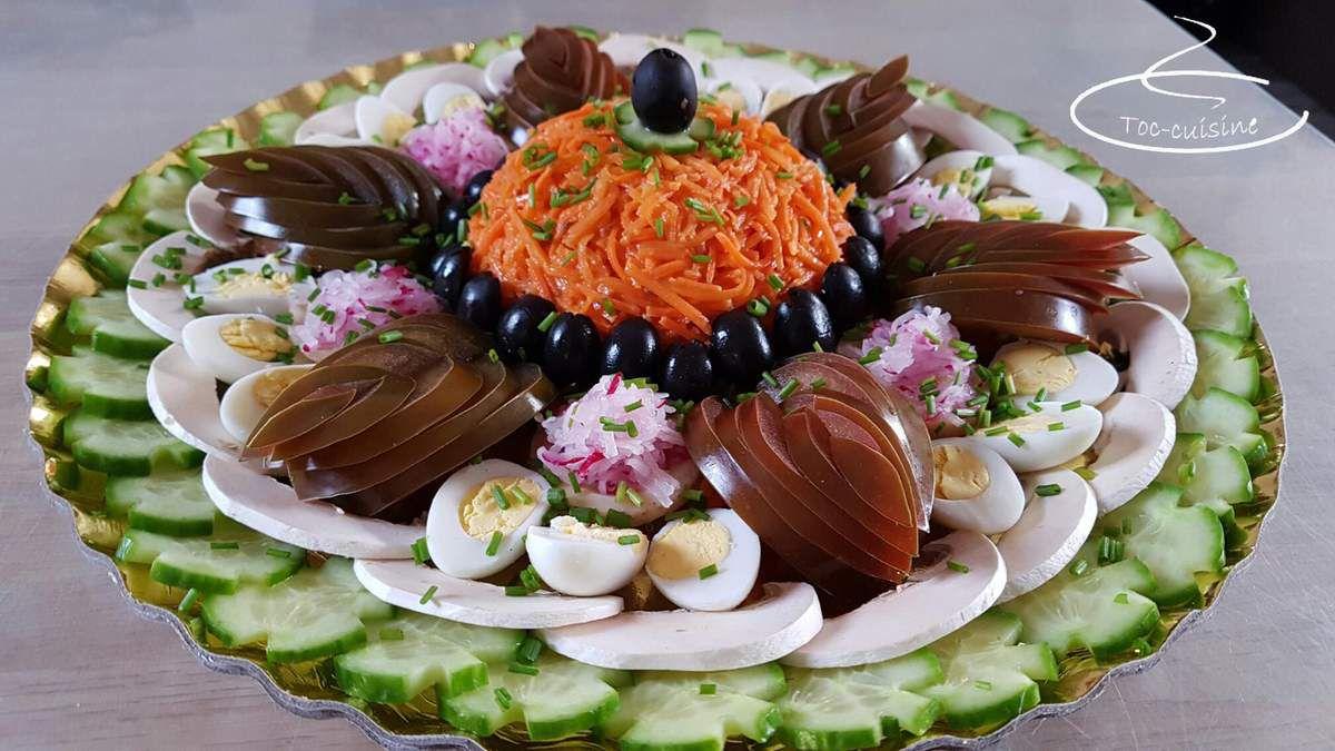 Salade de crudités pour repas fraîcheur