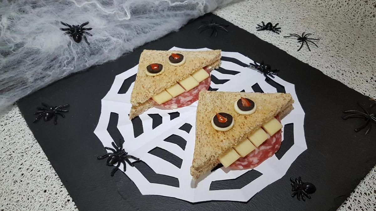 menu Halloween pour mini-pousses