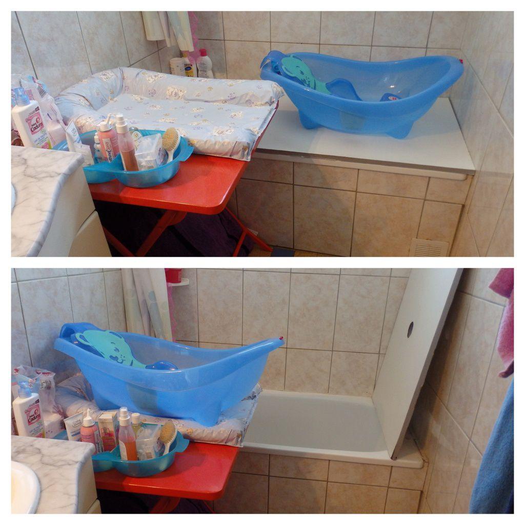 Comment Aménager Une Salle De Bain Tout En Longueur bain de bébé : comment aménager une petite salle de bain