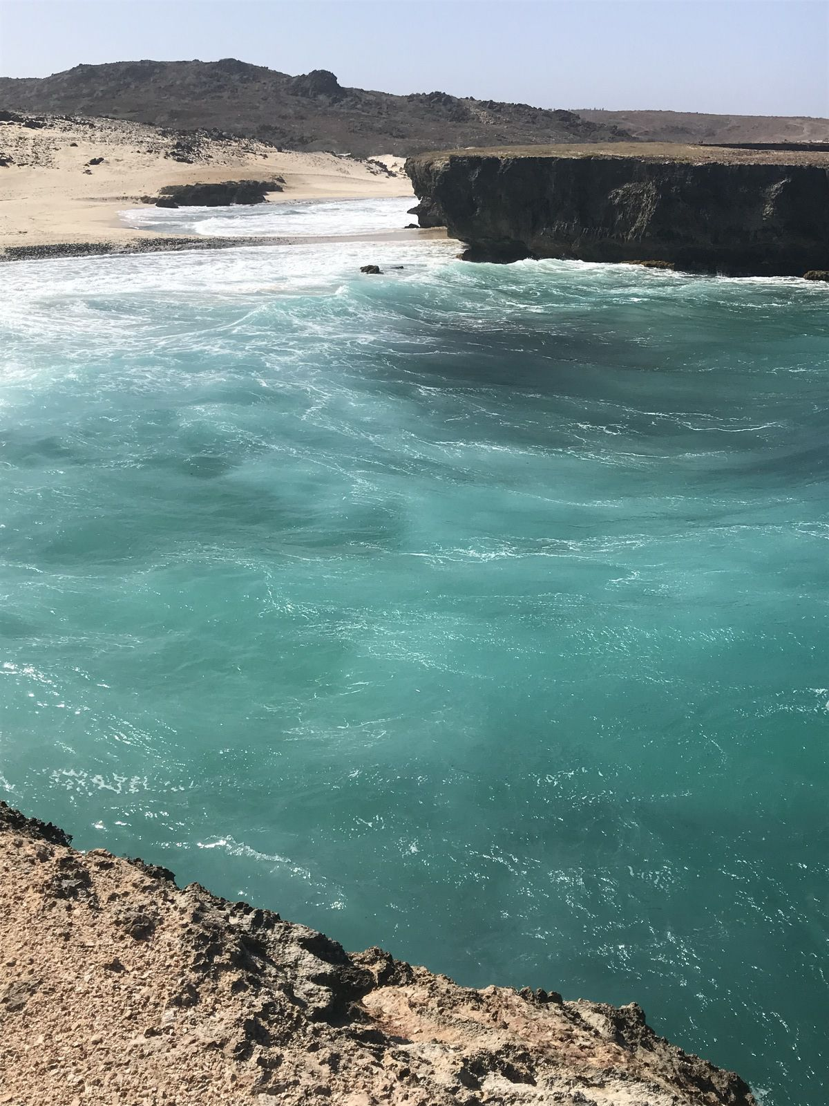 131ème pays visité ARUBA - petite île aride au tourisme américanisé