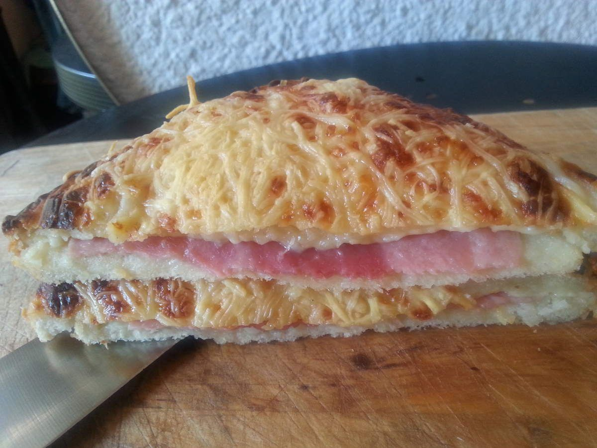 Croque monsieur traditionnel