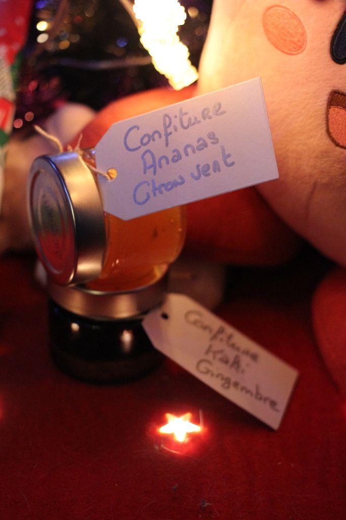 Paniers sucrés de Noël 2, les confitures