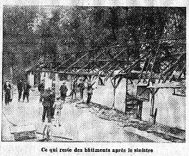 Incendie à la Faisanderie en 1934
