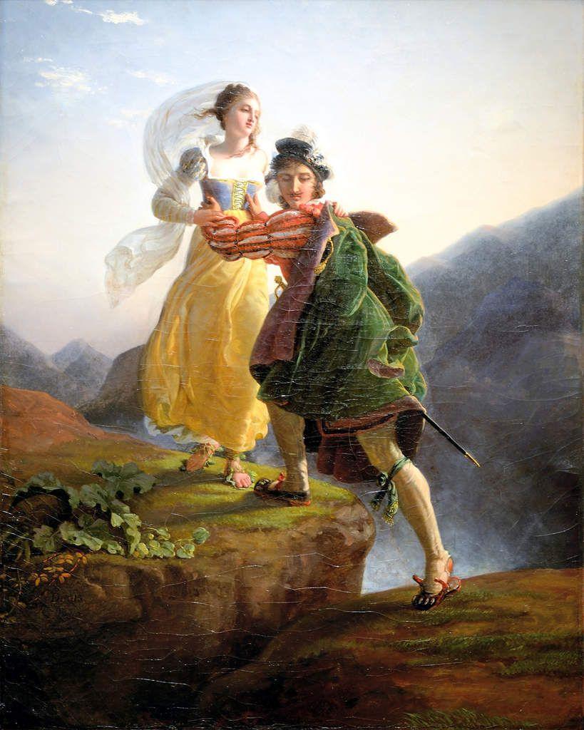 La fuite de Bianca Cappello vers Florence