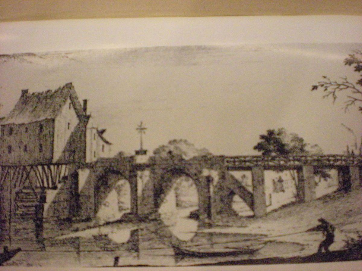 Pont de Joinville et moulin