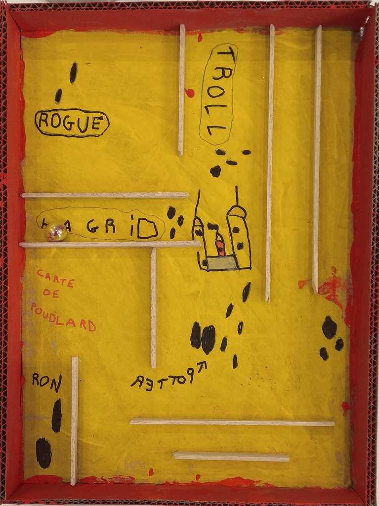 labyrinthe de bille carte du maraudeur // cliquez pour agrandir