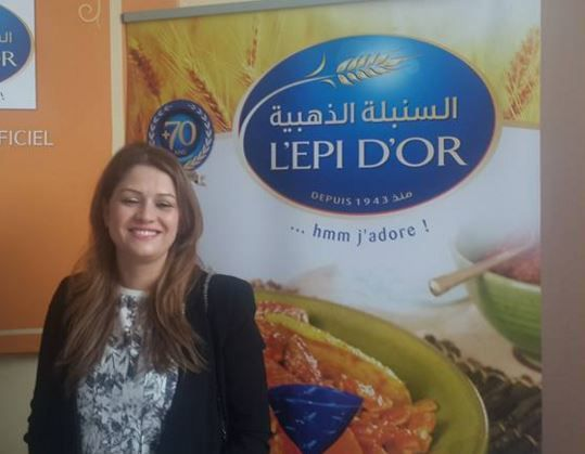 Maweheb Ben Amor, Directrice du Marketing EPI D'OR, sponsor officiel de la Fourchette d'Or