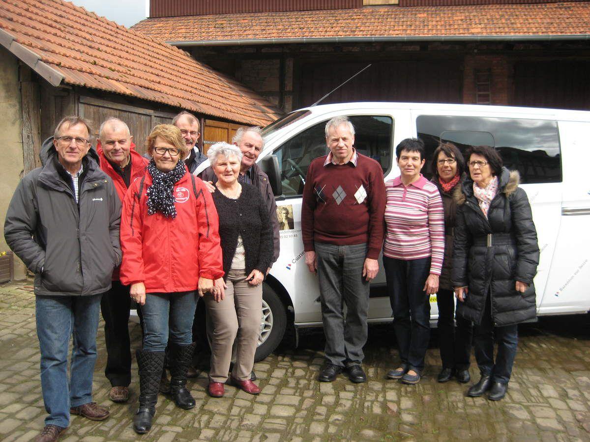 Halte à Blankenheim (31 mars 2015)
