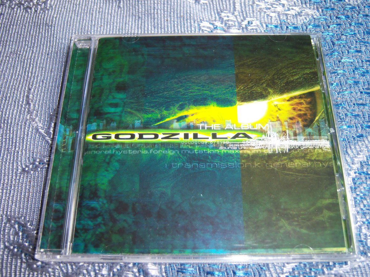 CD Godzilla : The album.