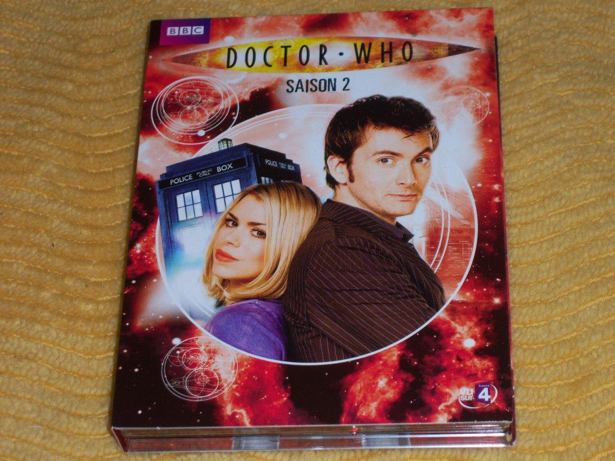 Doctor Who saison 2 en DVD.