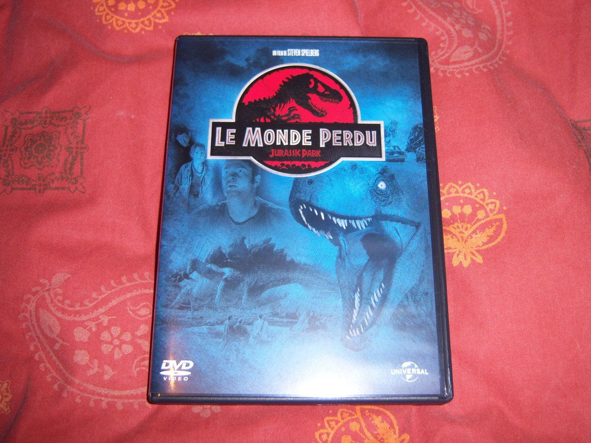 Le monde perdu en DVD.
