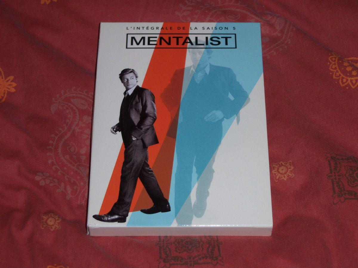 Mentalist saison 5 en DVD.