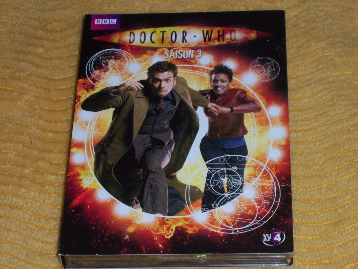 Doctor Who saison 3 en DVD.