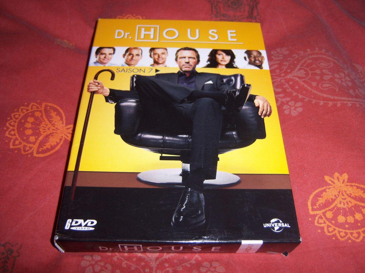 Dr House saison 7 en DVD.