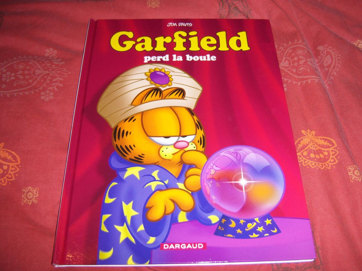 Le tome 61 de Garfield, Garfield perd la boule.