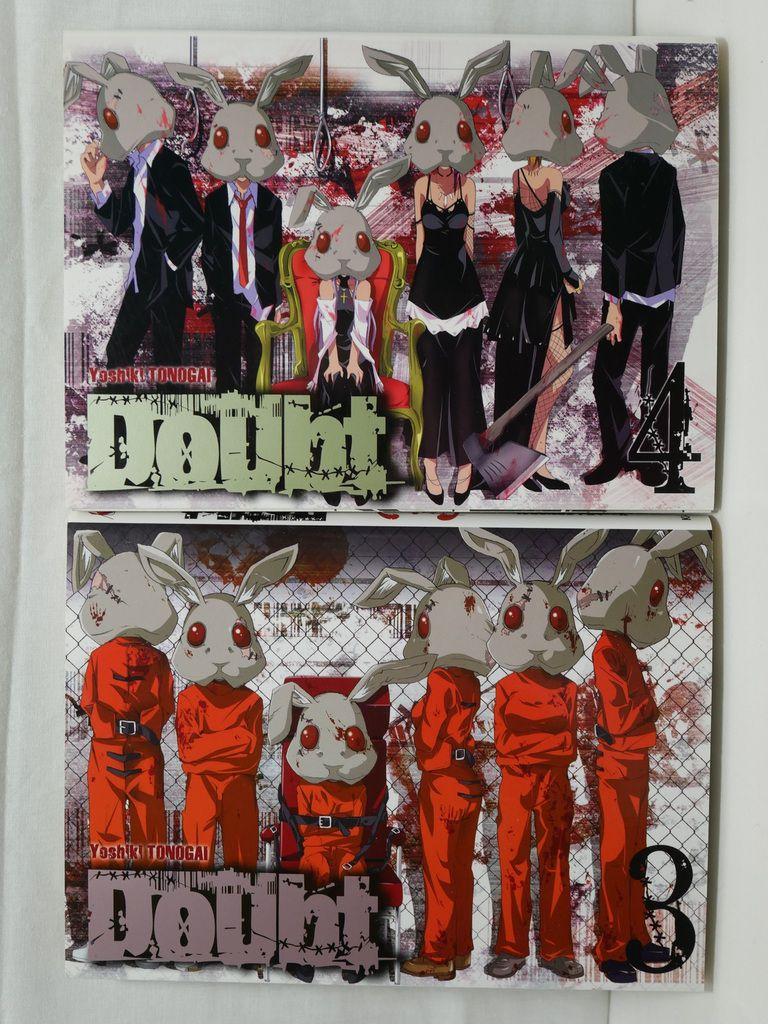 Doubt tomes 03 & 04