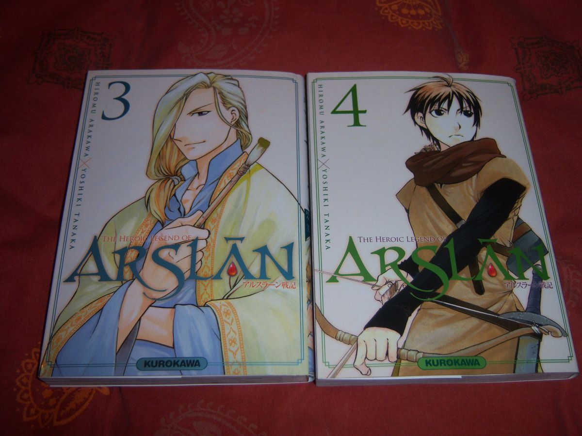 The heroic legend of Arslân - Tomes 03 & 04