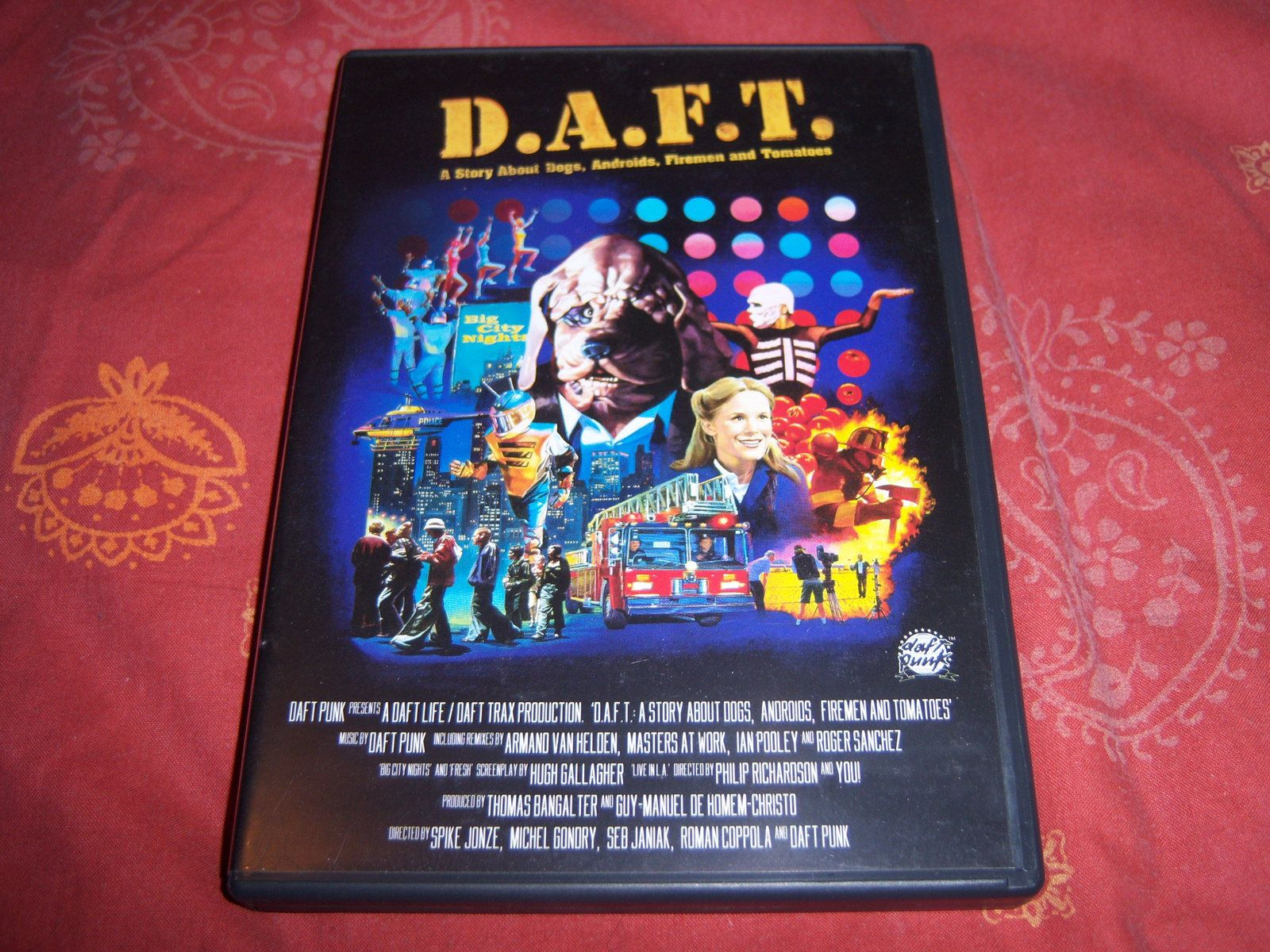 D.A.F.T. A story about Dogs, Androids, Firemen and Tomatoes – Daft Punk