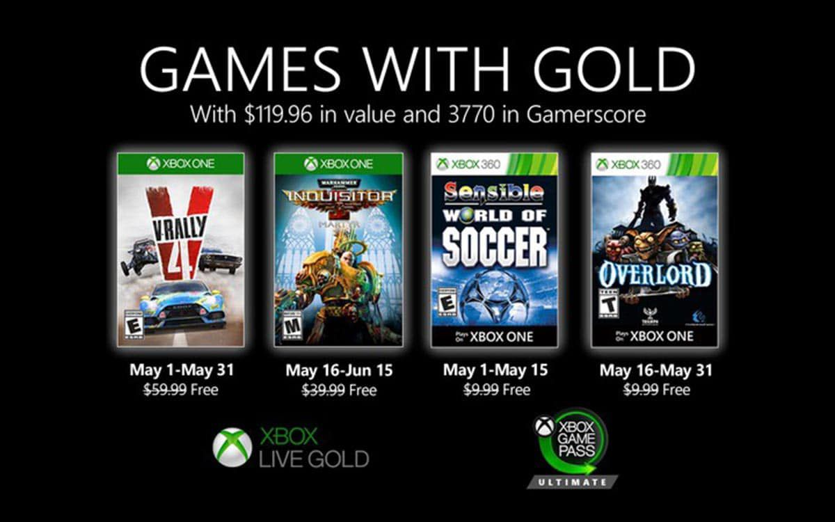 Games with Gold – Mai 2020