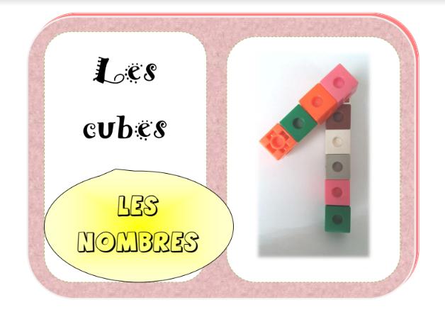 cubes lettres et nombres
