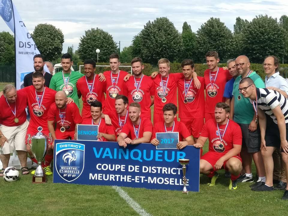 Vainqueurs de la Coupe du District 2016-2017