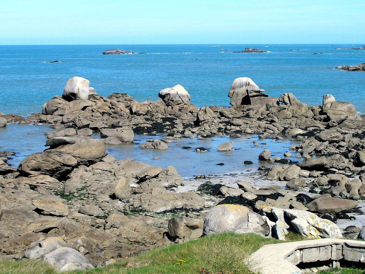 Voici des vues de la côte Nord Finistère.