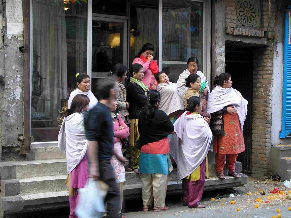 VIE QUOTIDIENNE A KATHMANDU (Népal)
