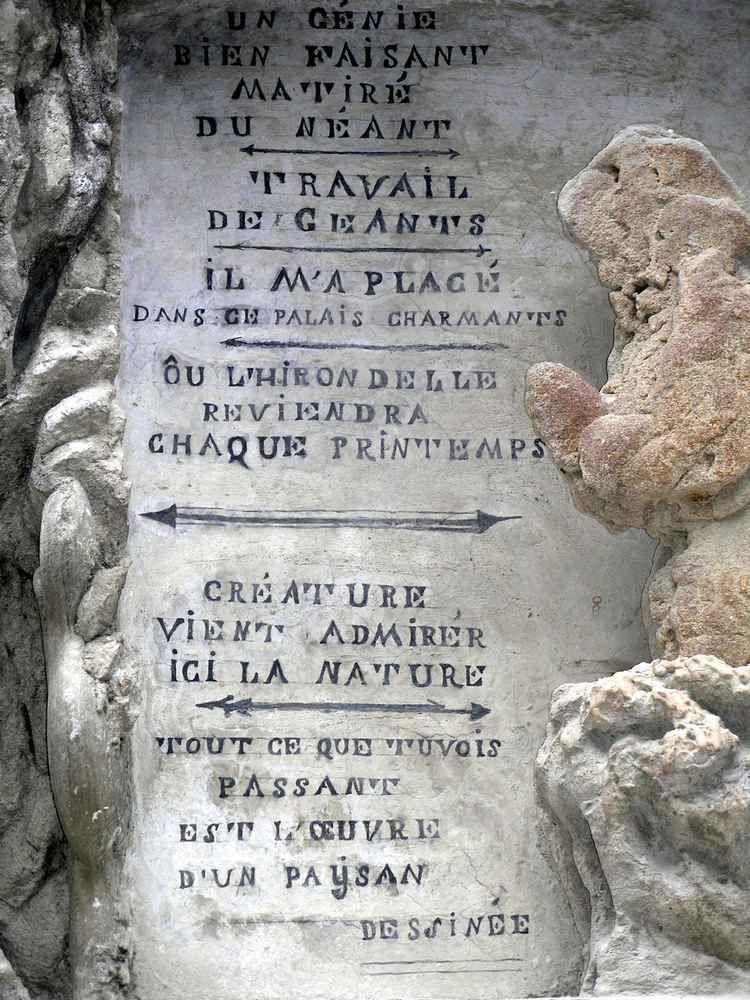 PALAIS DU FACTEUR CHEVAL (Drôme)