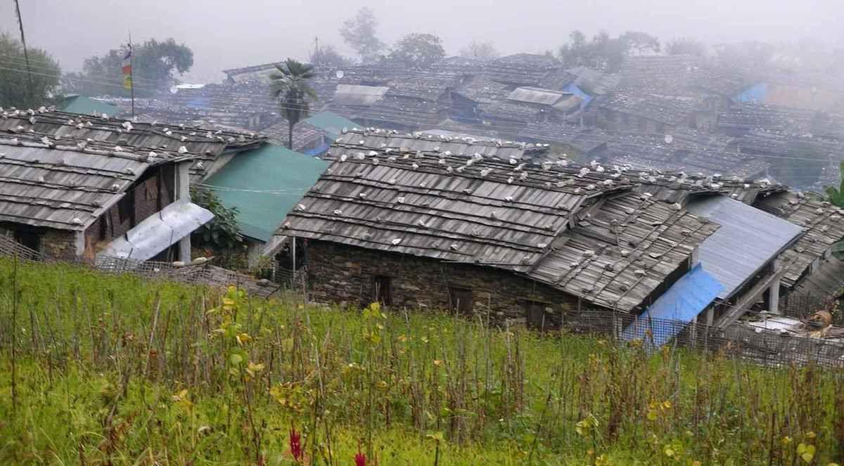 TREK DU MANASLU - NEPAL - 3ème Etape (Barpak-Laprak)