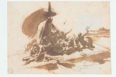 Le Radeau de la Méduse, Géricault
