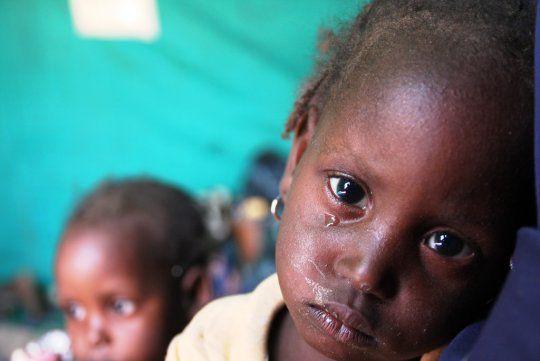 Photo : Enfants réfugiés nigérians du camp de Gagamari au Niger où 16 000 réfugiés sont pris en charge par les Nations Unies et le programme humanitaire européen Echo (European Commission humanitarian aid and civil protection department) / CC ECHO.