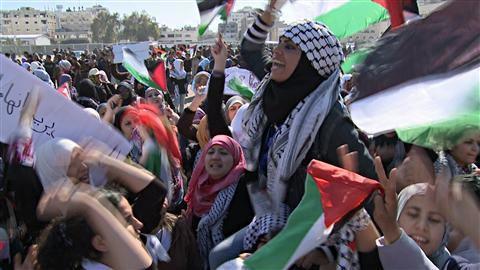 Palestine : Le Hamas réprime une manifestation de jeunes