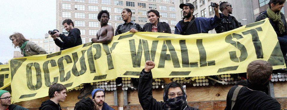 Occupy Wall Street, New York (EPA/JUSTIN LANE)
