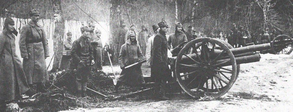 L'Armée rouge contre les insurgés de Kronstadt (DR).