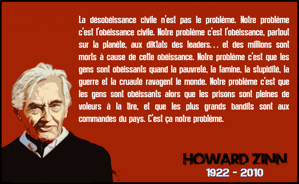 ★ Howard Zinn sur l'Anarchisme