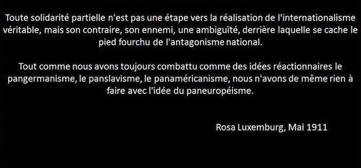 L'abécédaire de Rosa Luxemburg