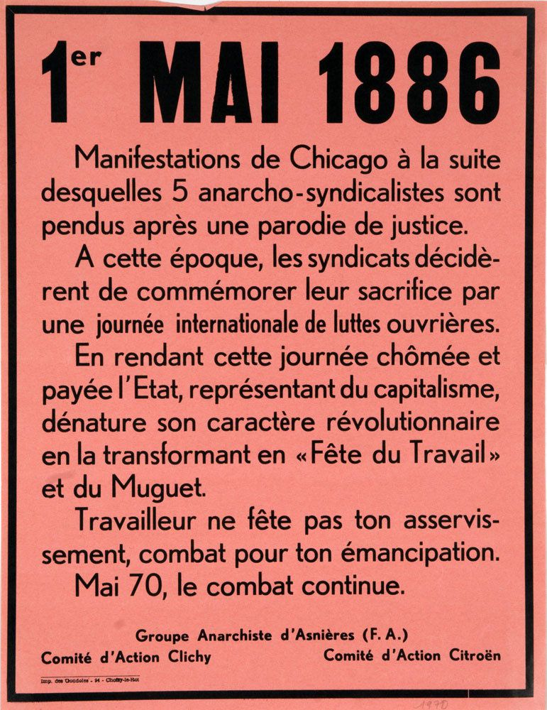 1er Mai anarchiste