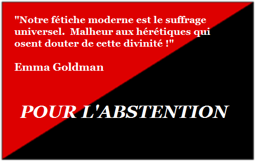 Abstentionisme Antiélectoralisme Anarchisme