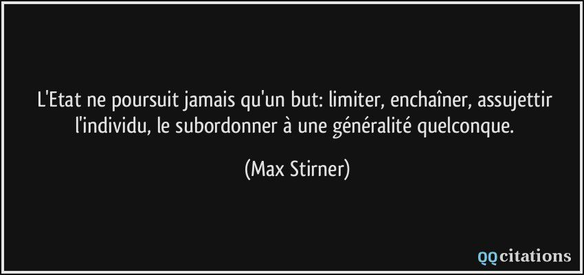 Max Stirner Anarchisme