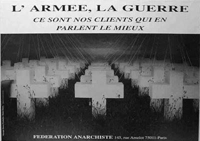 Anarchisme révolution guerre antimilitarisme