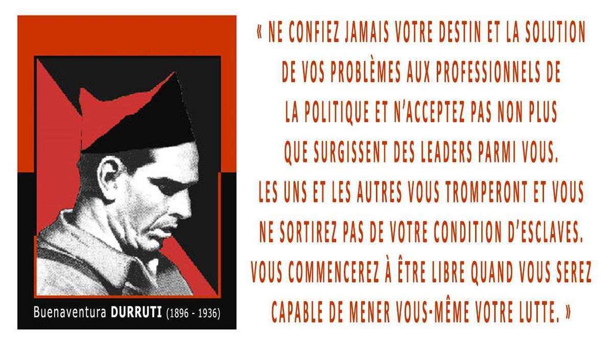 ★ Emma Goldman : Durruti n'est pas mort !