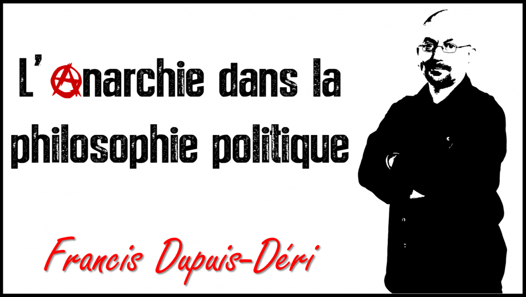Anarchisme philosophie