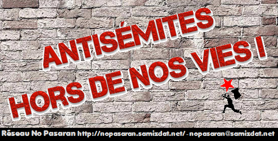 Antisémitisme Antifascisme Antiracisme