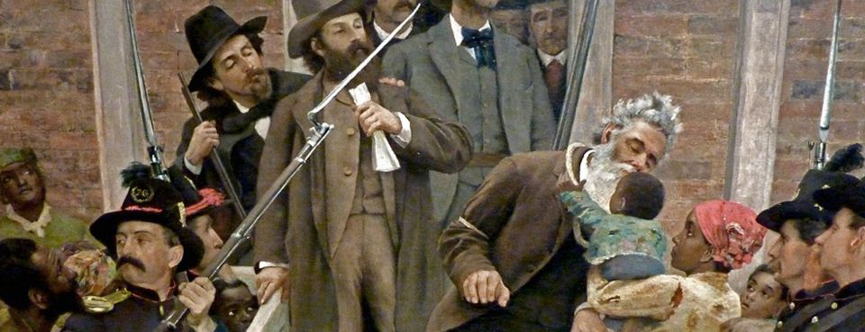 The Last Moments of John Brown, 1884, par Thomas Hovenden.