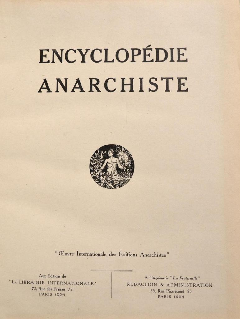 Encyclopédie anarchiste